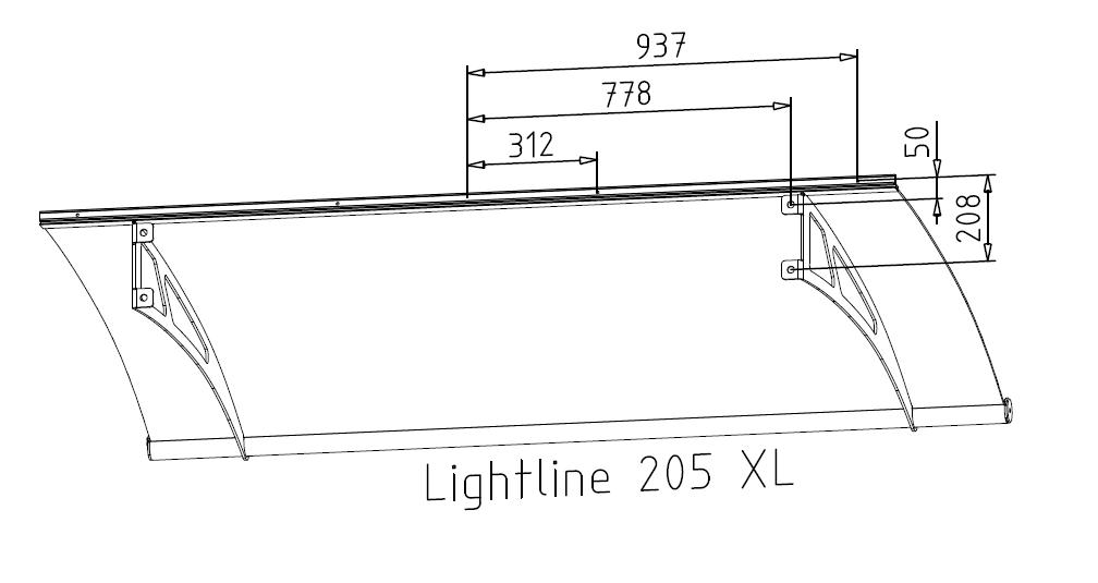 daszek Lightline 205