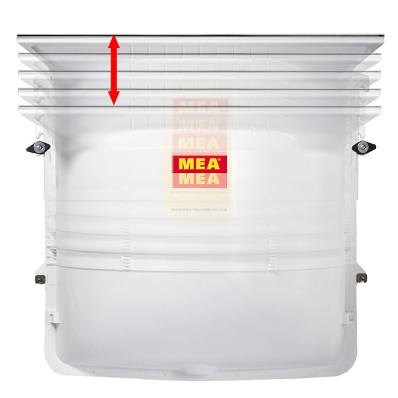 MEAMAX STANDARD Basement Light Well With A PKW Grating
